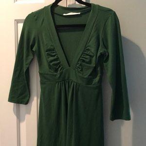 Susana Monaco Green Dress